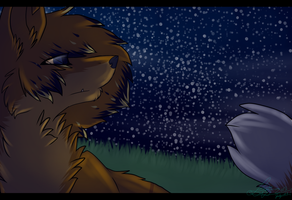 Counting Stars: Speed Paint! (updated) by Woods-Of-Lynn