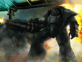 Brother Of Steel (WH40k style Fallout) by TheMaestroNoob