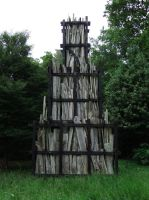 Wooden Tower by fuguestock