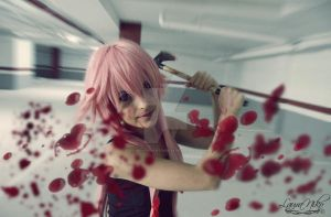 Gasai Yuno Cosplay by LauraNikoPhantomhive