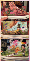 Lorax Converse by sharkie19