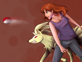 Donna And Ninetales by BellalyseWinchester