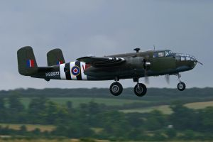 North American B-25D Mitchell by Daniel-Wales-Images