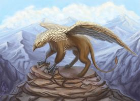 Griffin by Kira-Bagirova