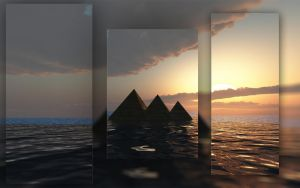 pyramids Lost Way by Hythamkalefe