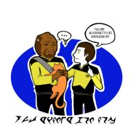 Worf N Data by The-Tall-Midget