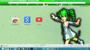 Kasane Keko Chrome Theme by KEdd-P