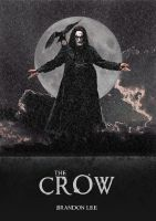 The Crow - Film Poster by BrentonPowell