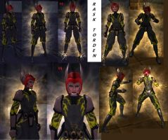 CoH Toon Collage 05 by Jaguard