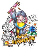 Happy Graduation ! by nugraha-cliche