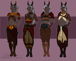 Ataash Outfit Commission by TaiusQuinn