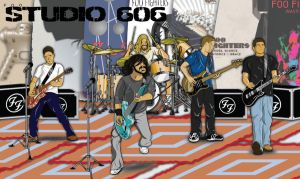 Foo Fighters Studio 606 by HarlandGirl