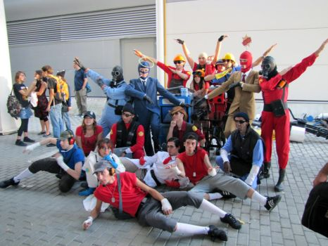 WE. ARE. COOL. - TF2 cosplay by AuRa90
