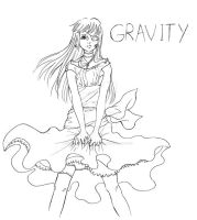 GRAVITY by emomonkeyflowersInc