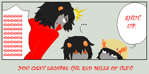 You Cant Escape The Red Miles Of Text by Ask-KarkatVantus