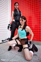 Lara Croft and The Doppelganger 1 by Athora-x