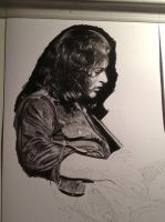 Rory Gallagher WIP by Boss429