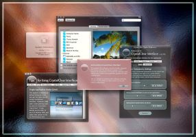 CrystalClear Interface 2.2: 5 by marsmuse
