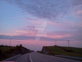 A Cloudy Sunrise While Going Home 14 by dhbraley