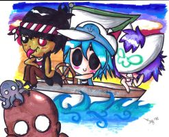 To Plastic Beach by Lilymint7