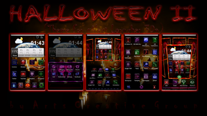 Next Launcher Halloween2 Theme by ArtsCreativeGroup