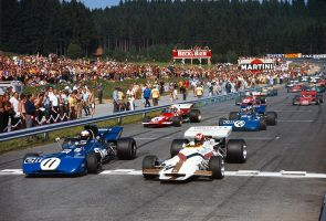 1971 Austrian Grand Prix Start by F1-history