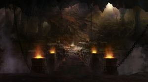 an ancient tomb by wanbao