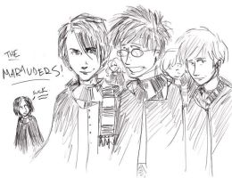 the maraudersssss by minocycline