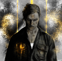 True Detective - Rust Cohle old by p1xer