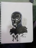 WW Ohio Magneto/ Venom by AndrewKwan