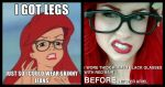 The Original Hipster Ariel by TheRealLittleMermaid