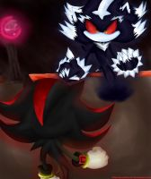 Shadow vs Mephiles phase 1 by naomithecat1