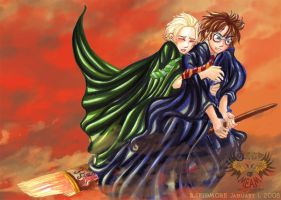 Get to the Door Potter by Meam-chan