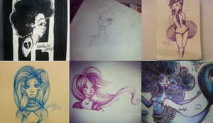 Some Drawings and Doodles by WendyFae