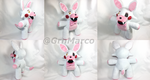 Five Nights at Freddy's- Handmade Mangle Plushie by GrnMarco