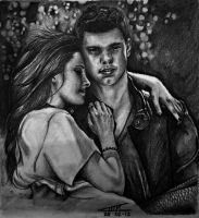 Twilight love: Bella and Jacob by Lmk-Arts