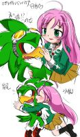 JET X MOKA by GaruGiroSonicShadow