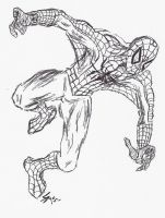 Sketchy Spider-man by UnusTurpisOrdo