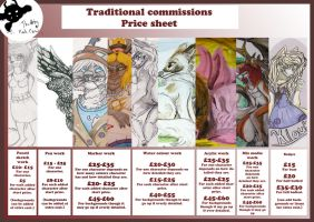 Traditional Commission Sheet by TheArtyMadCow