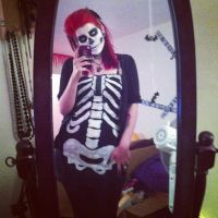Skeleton Costume by itashleys-makeup
