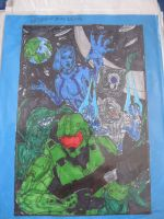 Halo Collageio by Brutechieftan