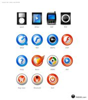 Icons for video convertver by seanking
