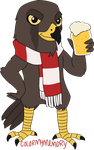 Commission: HIH13 (Harrier Hawk) by ColorMyMemory