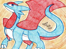 Pokemon- Salamence by FlygonPirate
