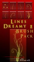 Lines_Dreamy 2 _BRUSH_Pack by shiaking