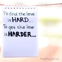 Hard to find Love by froztlegend
