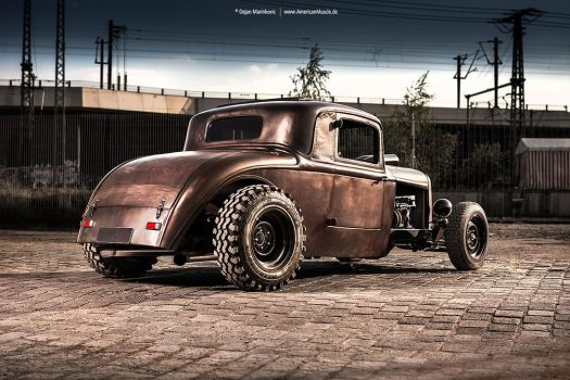Bad Ass '32 Ford by AmericanMuscle