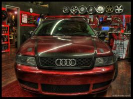 Front Audi HDR by andiesavestheday