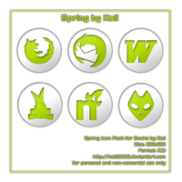 Spring Icon Pack .ico by kali2005
