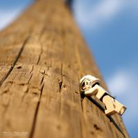 Stormtrooper climbing up by MarkoMeic